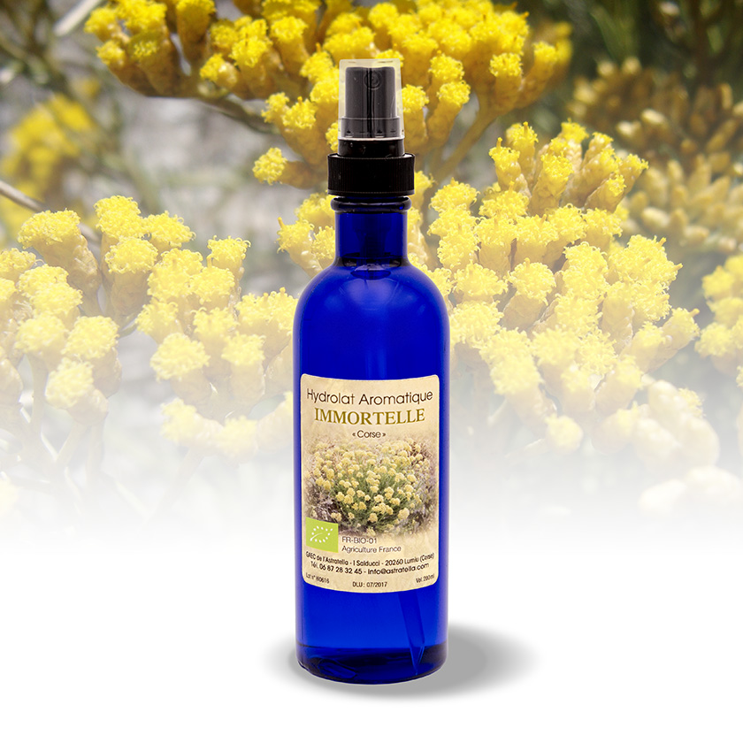 Hydrolat aromatique immortelle